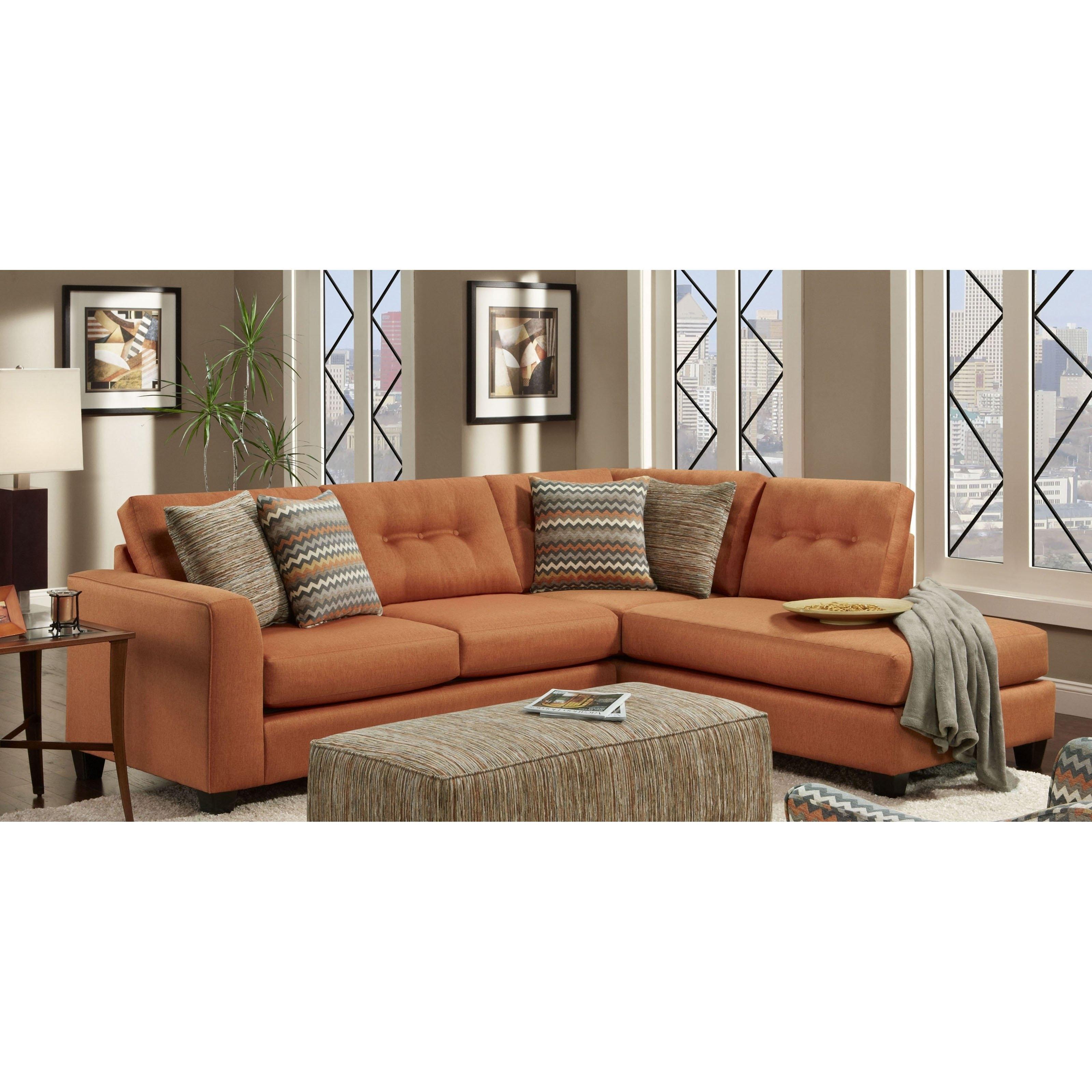 Chelsea Home Furniture Phoenix Sectional Sofa – Walmart In Phoenix Sectional Sofas (View 6 of 10)