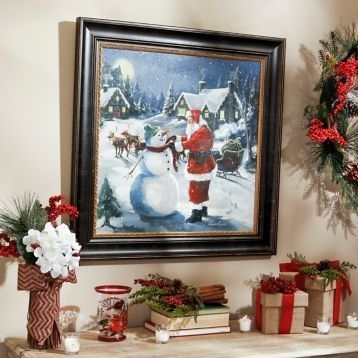 Christmas Framed Art Prints 10 Best Christmas Framed Art For Home For Christmas Framed Art Prints (View 5 of 15)