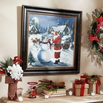 Christmas Framed Art Prints 10 Best Christmas Framed Art For Home For Christmas Framed Art Prints (Image 5 of 15)