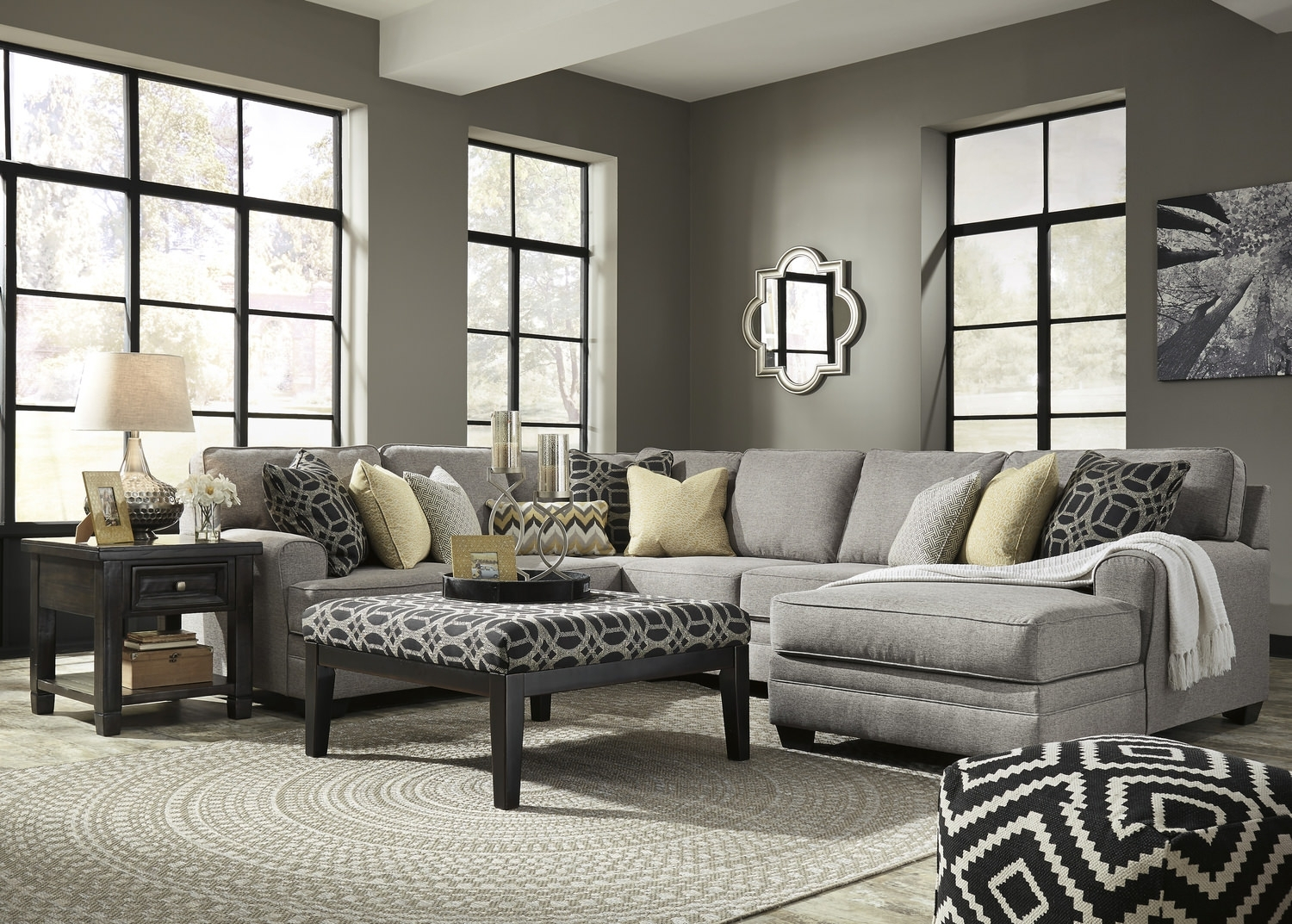 City 4 Piece Sectional | Hom Furniture Throughout St Cloud Mn Sectional Sofas (View 3 of 10)