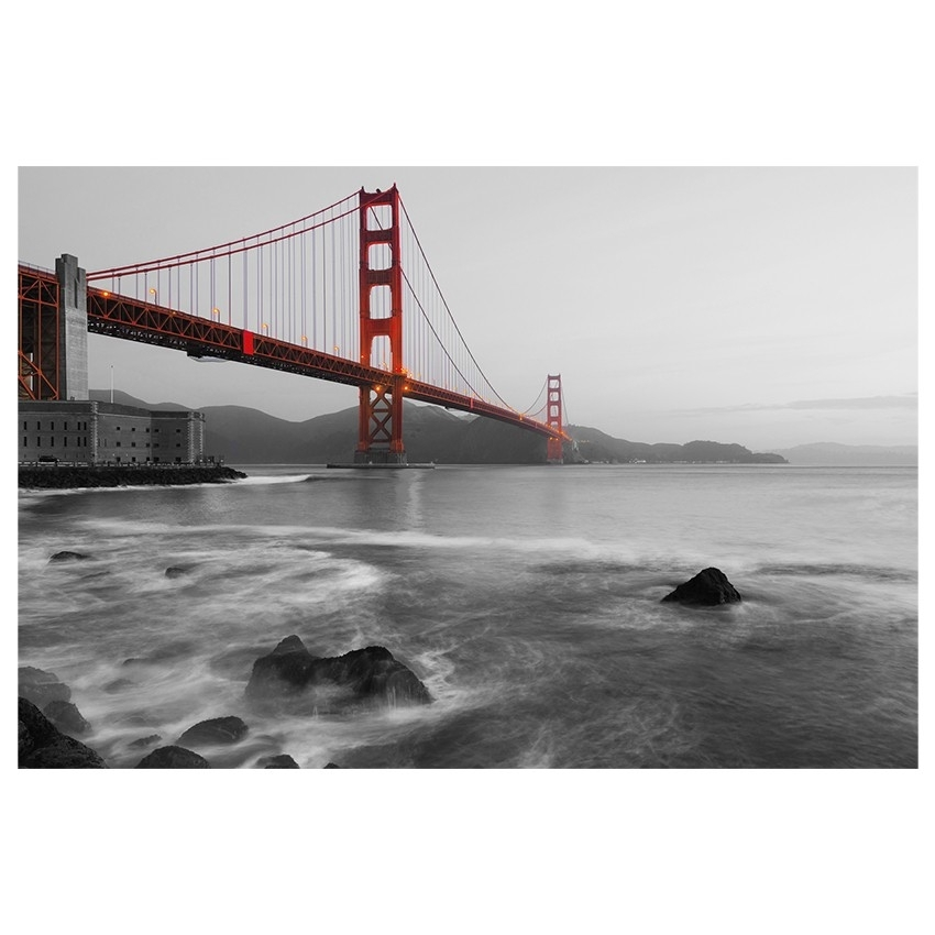 City Golden Gate Print | Wall Art | Jysk Canada Pertaining To Jysk Canvas Wall Art (View 10 of 15)
