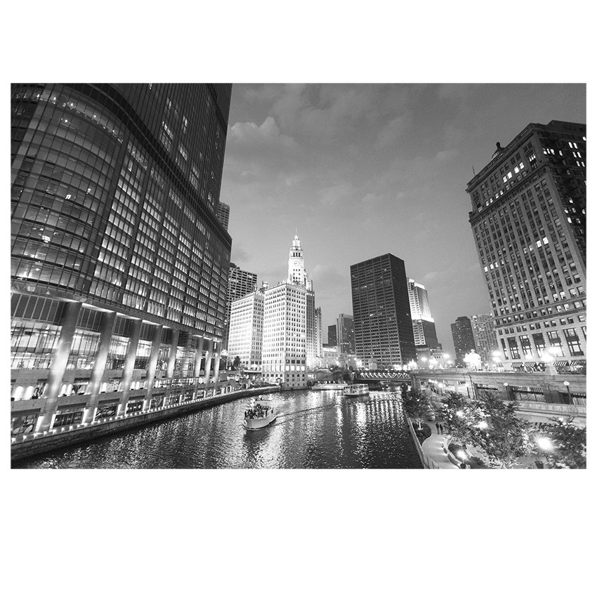 City Lake Print | Wall Art | Jysk Canada Within Jysk Canvas Wall Art (View 9 of 15)