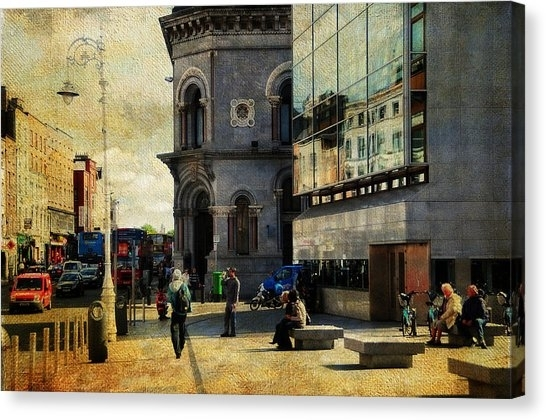 City Of Dublin Canvas Prints (Page #2 Of 19) | Fine Art America With Dublin Canvas Wall Art (View 5 of 15)