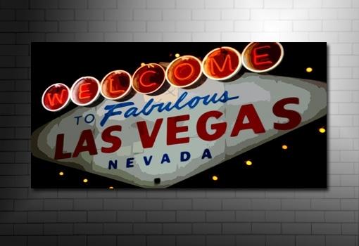 Cityscape Canvas, Fab Las Vegas Throughout Las Vegas Canvas Wall Art (View 8 of 15)