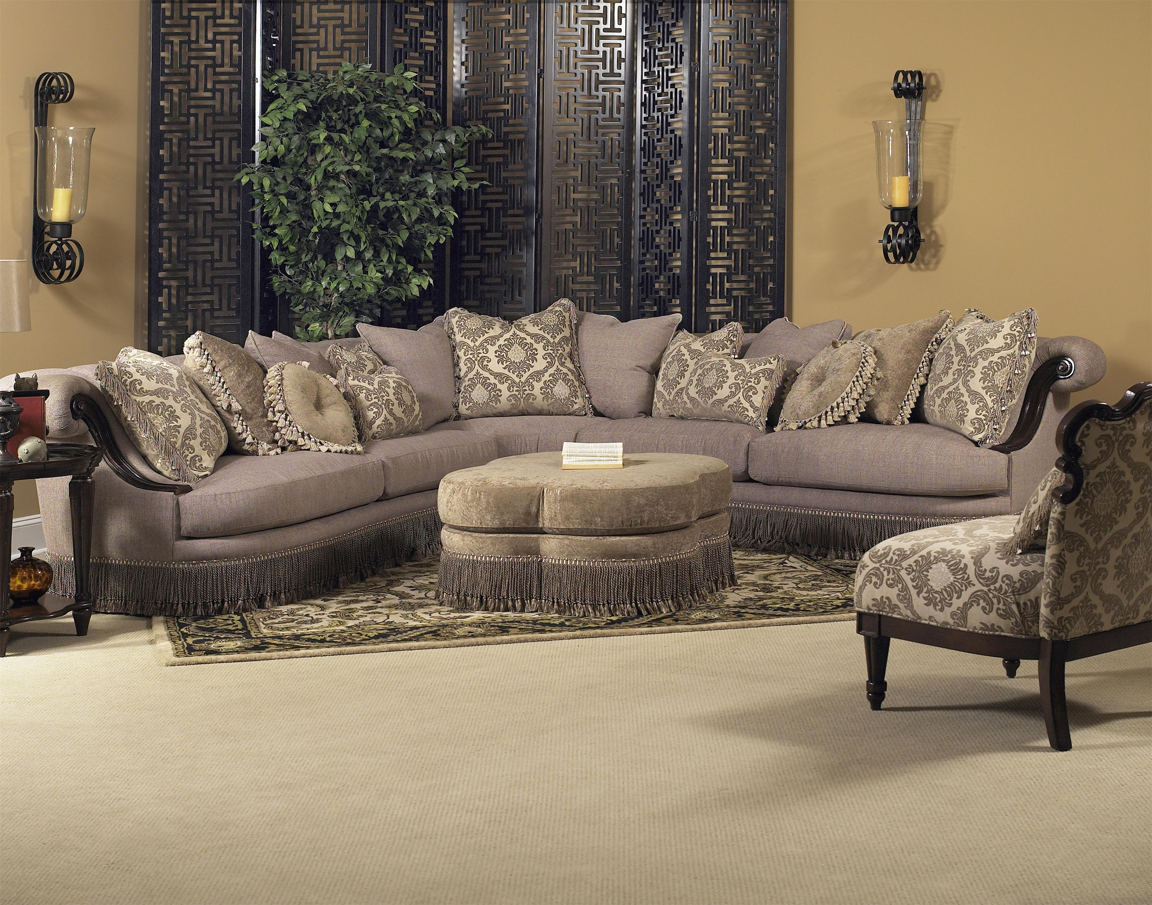 Classic Wellingsley Sectionalfairmont Designs Available At Royal Within Royal Furniture Sectional Sofas (Image 5 of 10)