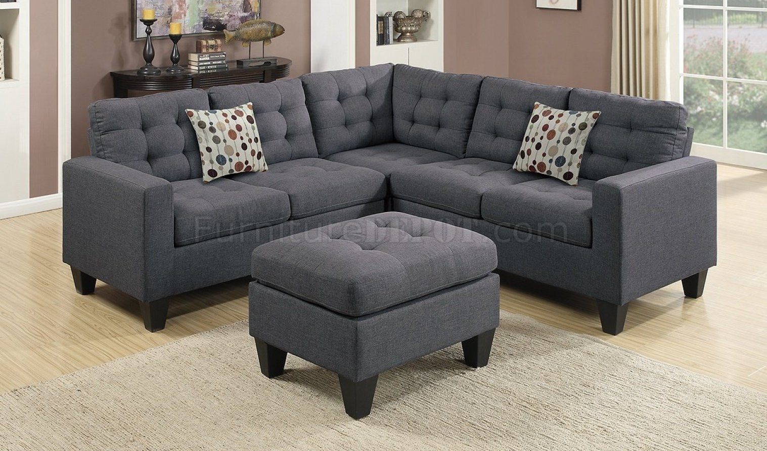 Cleaner : Navy Microfiber Sofa Exotic Reclining Sofas' Imposing With Regard To Little Rock Ar Sectional Sofas (View 4 of 10)