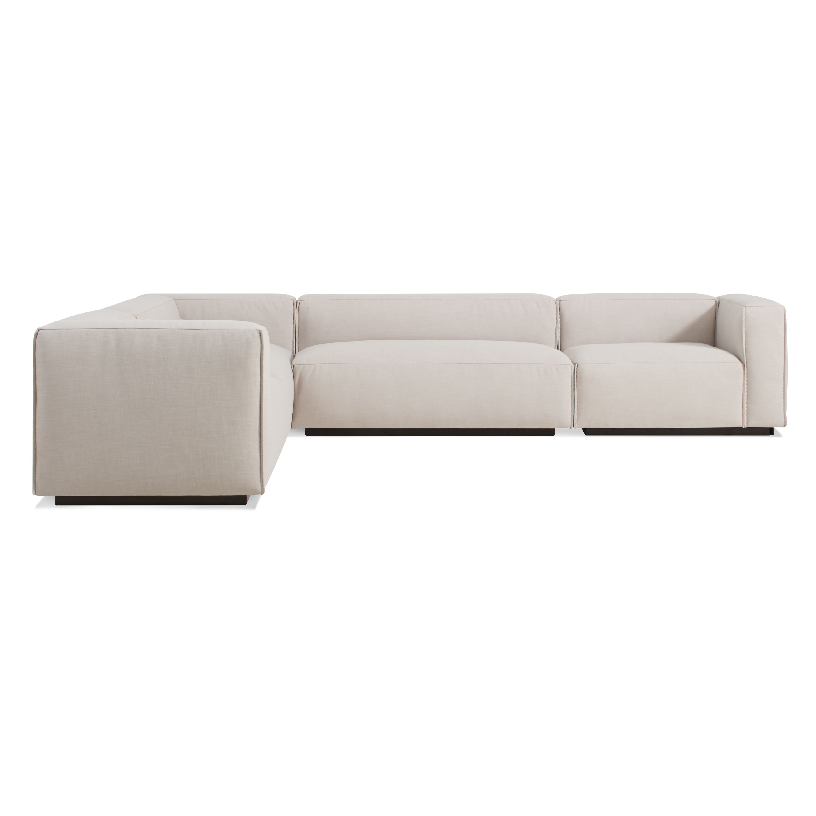 Cleon Large Modern Sectional Sofa | Blu Dot Intended For Hawaii Sectional Sofas (View 8 of 10)