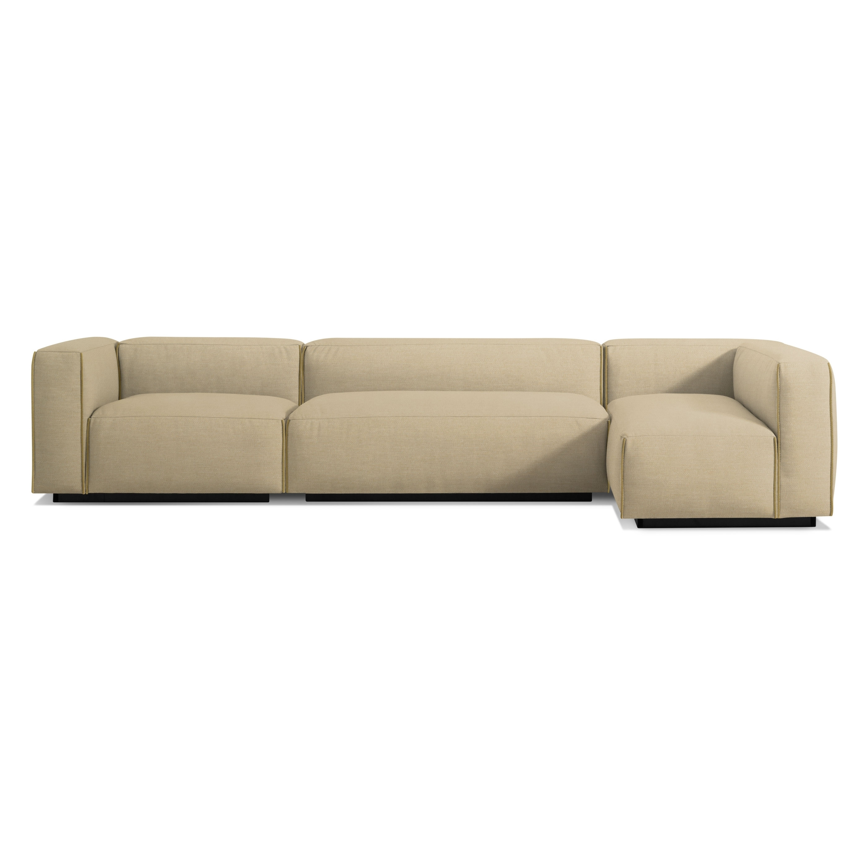 Cleon Medium+ Sectional Sofa – Modern Sofas And Sectionals – Bludot With Newfoundland Sectional Sofas (View 9 of 10)