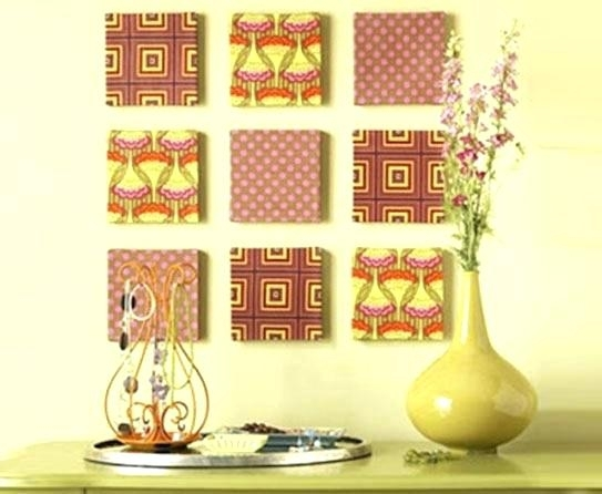 Cloth Wall Art Cloth Wall Art Cloth Wall Art Diy Fabric Canvas Regarding Cloth Fabric Wall Art (Image 3 of 15)
