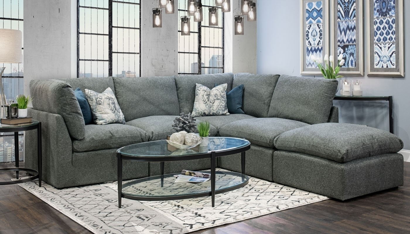 Cloud Sectional – Home Zone Furniture | Living Room Throughout Home Zone Sectional Sofas (View 7 of 10)