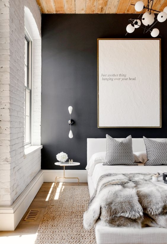 Color Passion: 30 Bold Painted Accent Walls – Digsdigs Within Wall Accents With Beige (Image 5 of 15)
