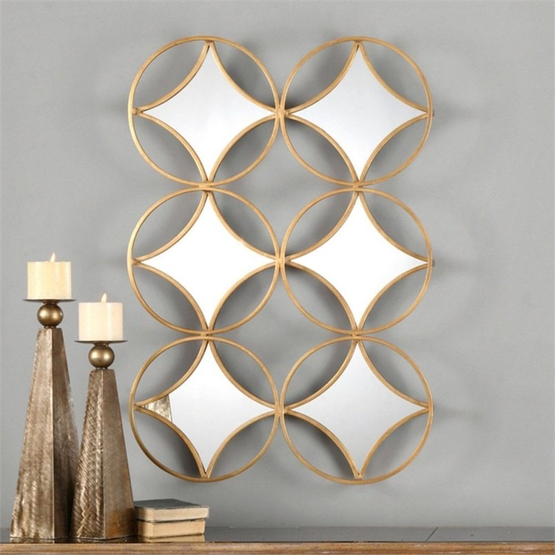 Colors : Geometric Modern Metal Abstract Wall Art As Well As Pertaining To Abstract Geometric Metal Wall Art (View 11 of 15)
