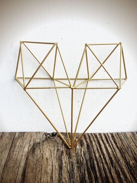 Colors : Geometric Wall Art Canvas Also Geometric Wall Art Metal Intended For Abstract Geometric Metal Wall Art (View 13 of 15)