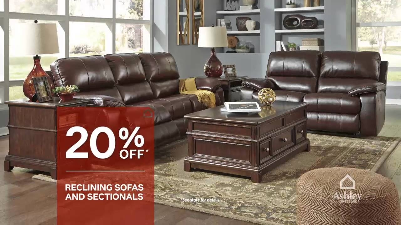Columbus Day Sale – Ashley Furniture Homestore – Joplin, Mo – Youtube Throughout Joplin Mo Sectional Sofas (Image 2 of 10)