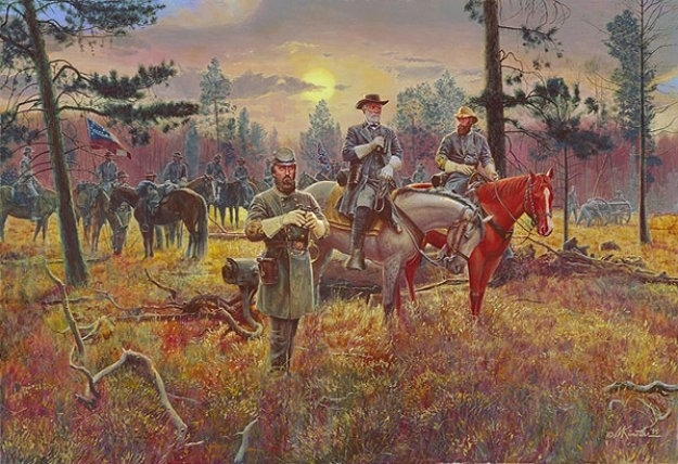 Confederate Sunsetmort Kunstler (View 15 of 15)