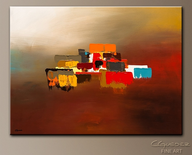 Contemporary Canvas Art Paintings – Horizon – Wall Art Gallery For Within Abstract Horizon Wall Art (View 14 of 15)