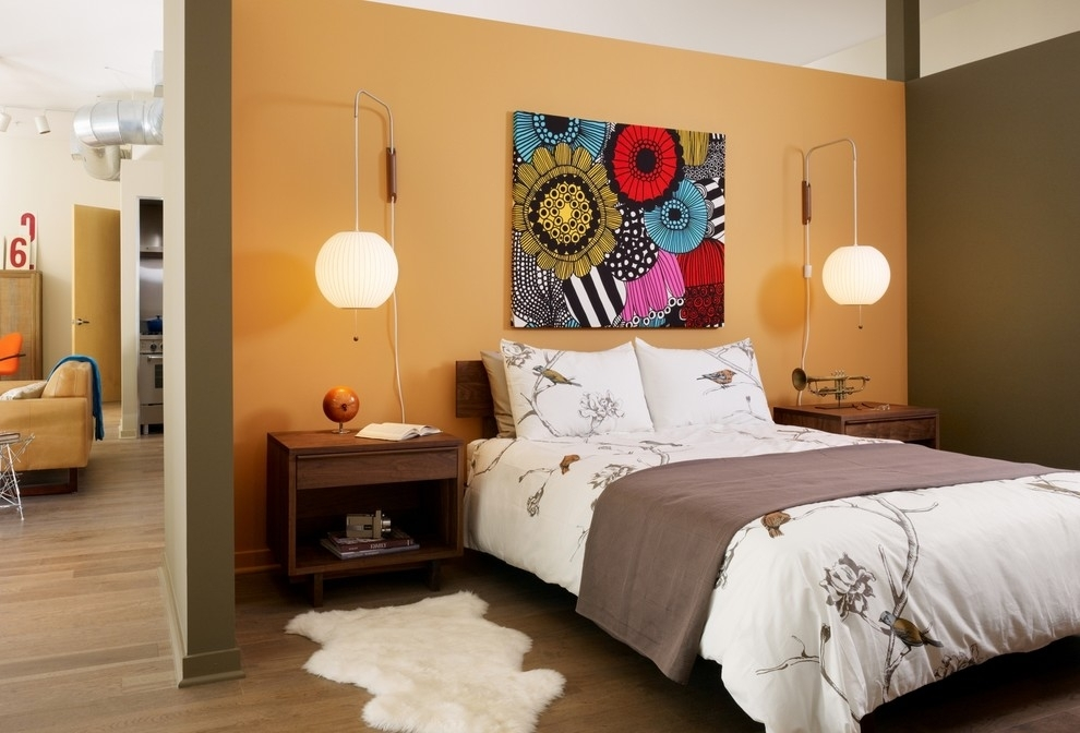 Contemporary Canvas Wall Art Bedroom — Contemporary Intended For Bedroom Canvas Wall Art (View 26 of 32)