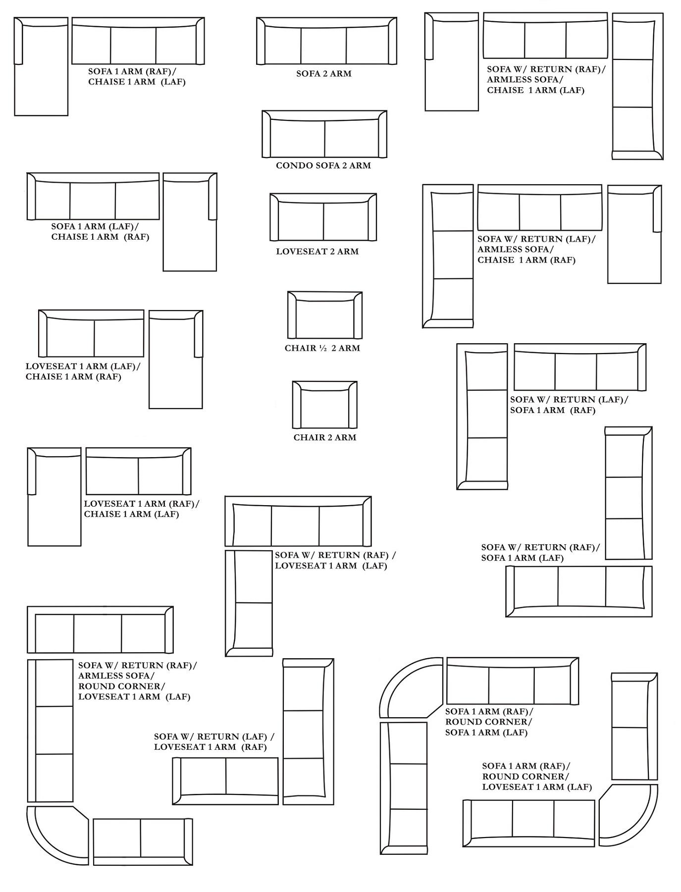 Corner Cuddler Sectional Sofa, Customizable Large Sectional With Regard To Customizable Sectional Sofas (View 3 of 10)