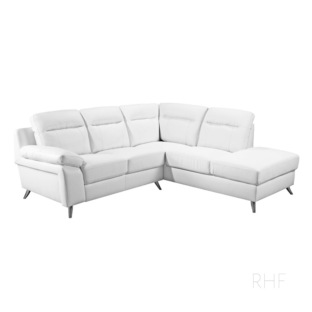 Corner Sofas From £599 | Simply Stylish Sofas For White Leather Corner Sofas (Image 3 of 10)