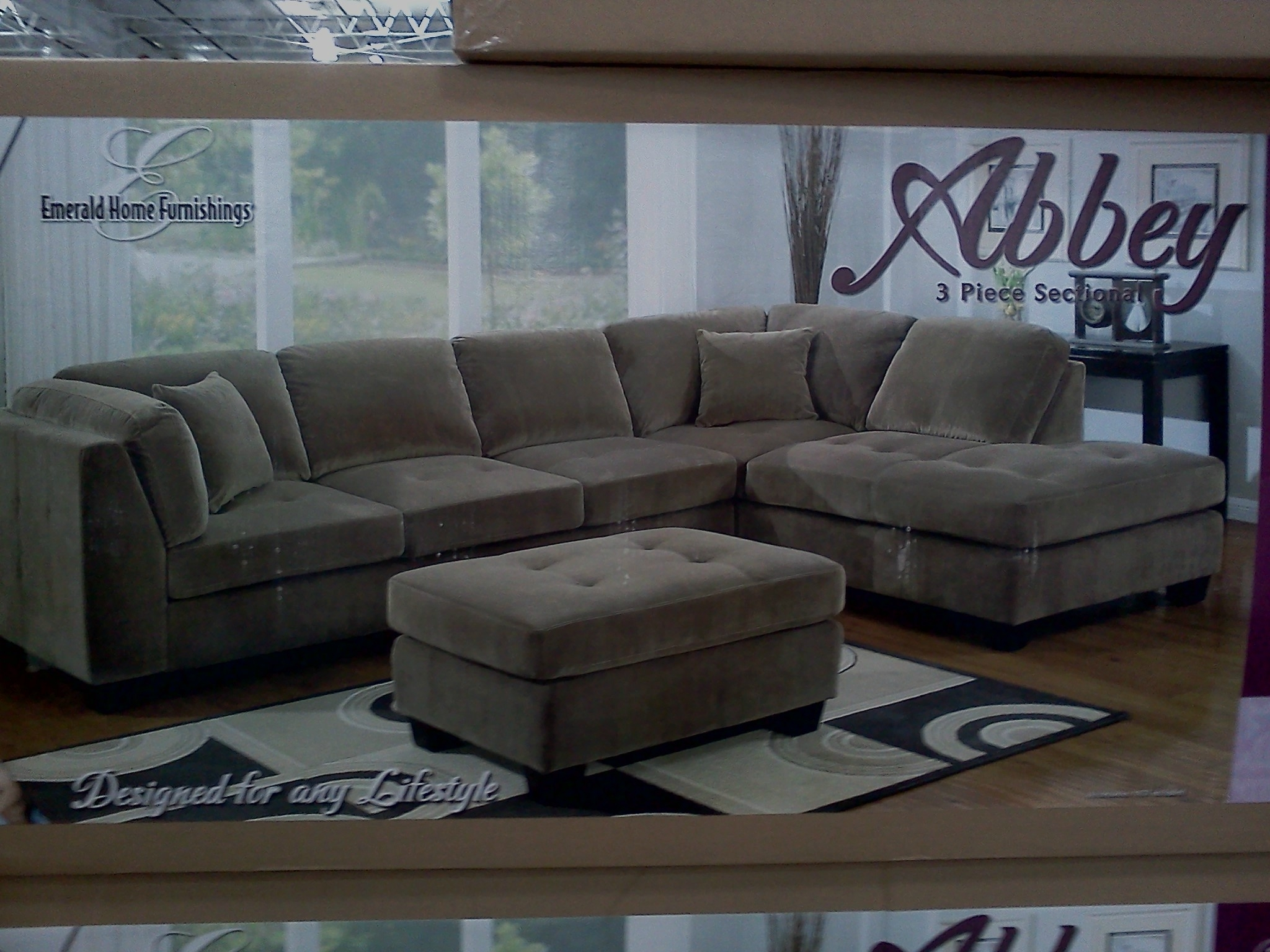 Costco Emerald Home Modular Sectional Slickdeals – Kaf Mobile Homes For Home Furniture Sectional Sofas (Image 3 of 10)