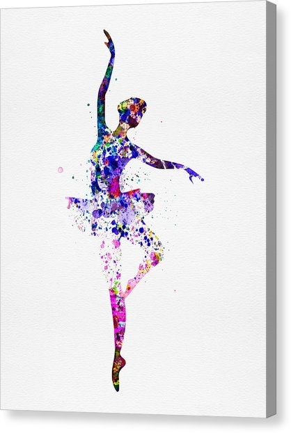 Couple Dancing Canvas Prints | Fine Art America Throughout Dance Canvas Wall Art (Image 5 of 15)