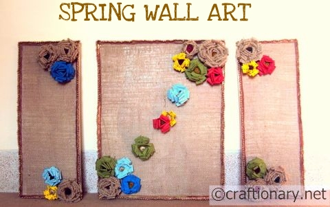 Craftionary Within Burlap Fabric Wall Art (Image 7 of 15)