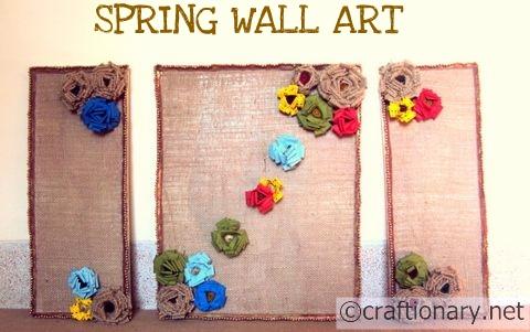 Craftionary Within Burlap Fabric Wall Art (Image 7 of 15)