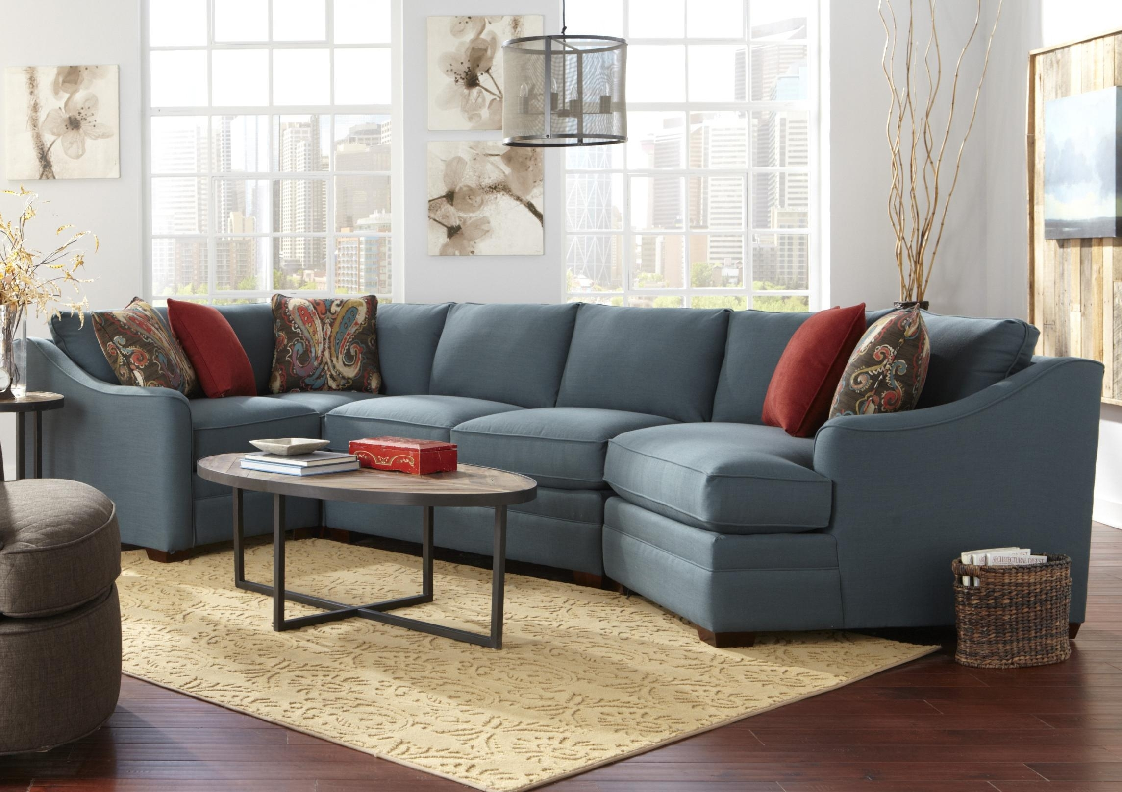 Craftmaster F9 Custom Collection Four Piece <B>Customizable</b Intended For Cuddler Sectional Sofas (Image 2 of 10)