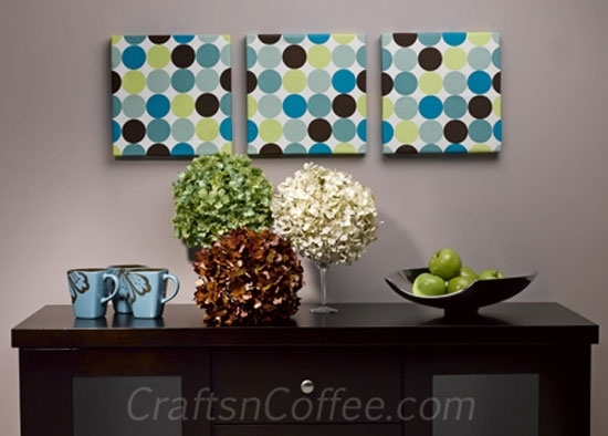Crafts 'n Coffee | Get Your Creative Buzz As We Craft With For Foam Fabric Wall Art (Image 2 of 15)