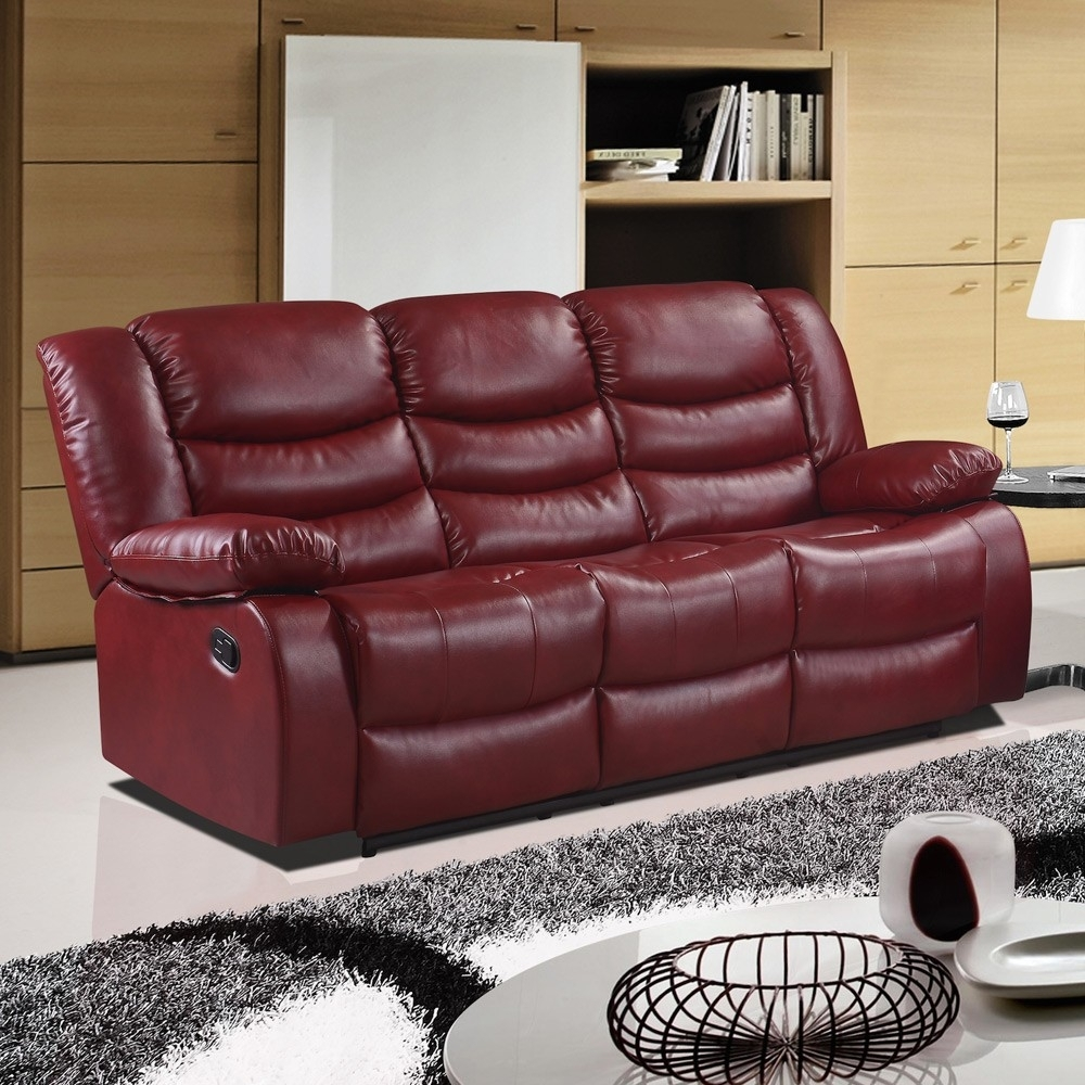 Featured Image of Red Leather Sofas