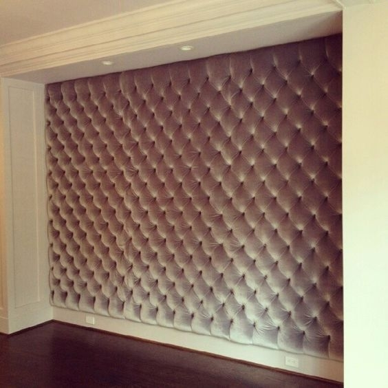 Creating Fabric Wall Hangings/panels For Sound Absorption – Google Pertaining To Padded Fabric Wall Art (Image 1 of 15)