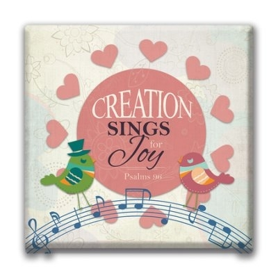 Creation Sings For Joy Canvas Wall Art – Christianbook In Joy Canvas Wall Art (Image 1 of 15)