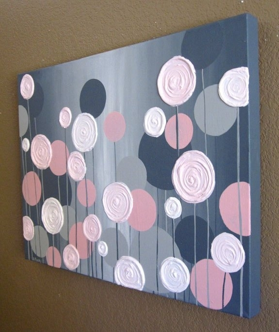 Creative And Easy Diy Canvas Wall Art Ideas With Diy Canvas Wall Art (Image 9 of 15)