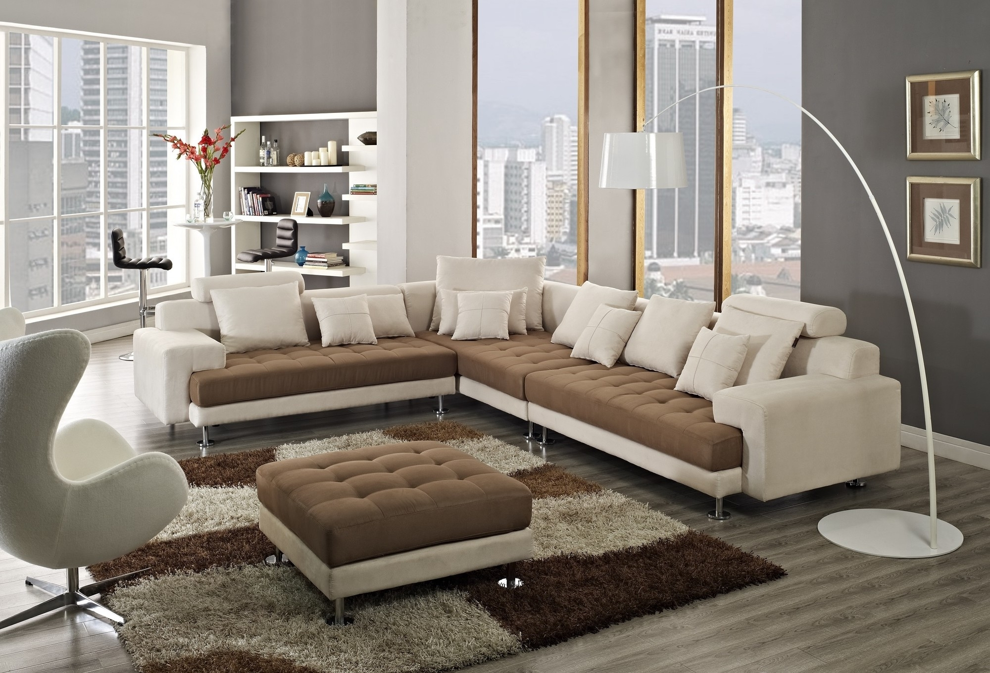 Creative Furniture Amanda Left Facing Chaise Sectional Sofa Inside Royal Furniture Sectional Sofas (Image 6 of 10)
