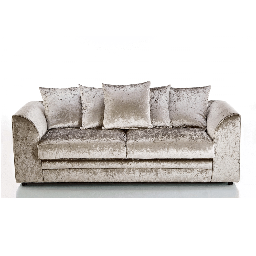 Crushed Velvet Furniture | Sofas, Beds, Chairs, Cushions For Velvet Sofas (View 1 of 10)