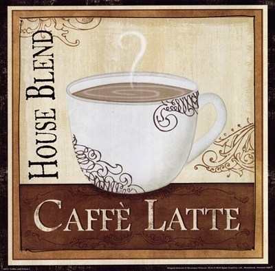 Cuisine & Food > Coffee & Tea: Art Prints, Posters & Framed Prints Regarding Framed Coffee Art Prints (Image 11 of 15)