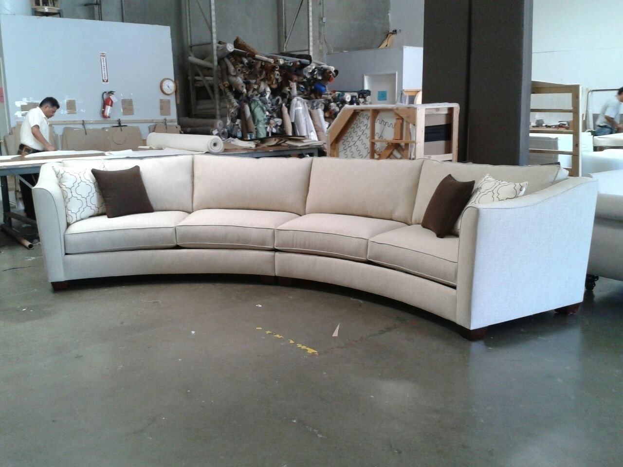 Curved Sectional Sofa Design — Cabinets, Beds, Sofas And Intended For Rounded Sofas (Image 2 of 10)