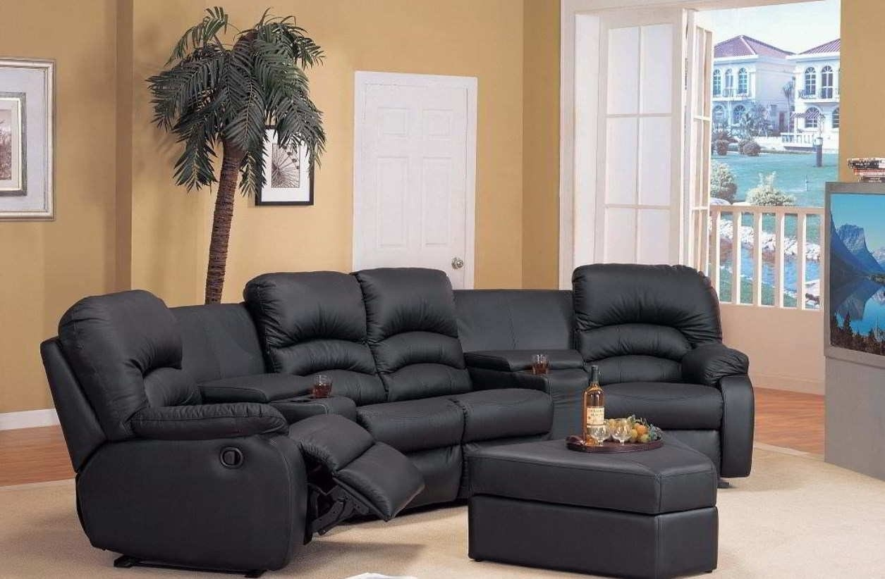 Curved Sectional Sofa Fascinating Recliner Sofas 28 For Small Spaces In Sectional Sofas With Recliners For Small Spaces (Image 3 of 10)