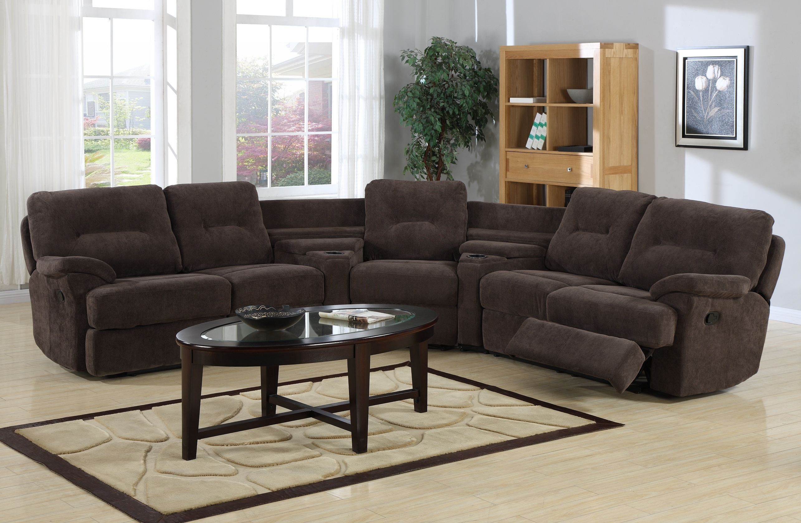 Curved Sectional Sofa With Recliner – Hotelsbacau For Curved Recliner Sofas (Image 3 of 10)
