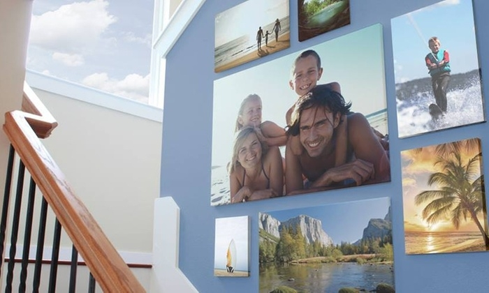 Custom Canvas Print – Easy Canvas Prints | Groupon Intended For Groupon Canvas Wall Art (Image 5 of 15)