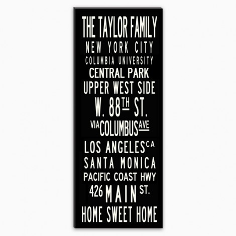 Custom Canvas Wall Art 16X20 Pertaining To Canvas Wall Art Family Rules (View 11 of 15)