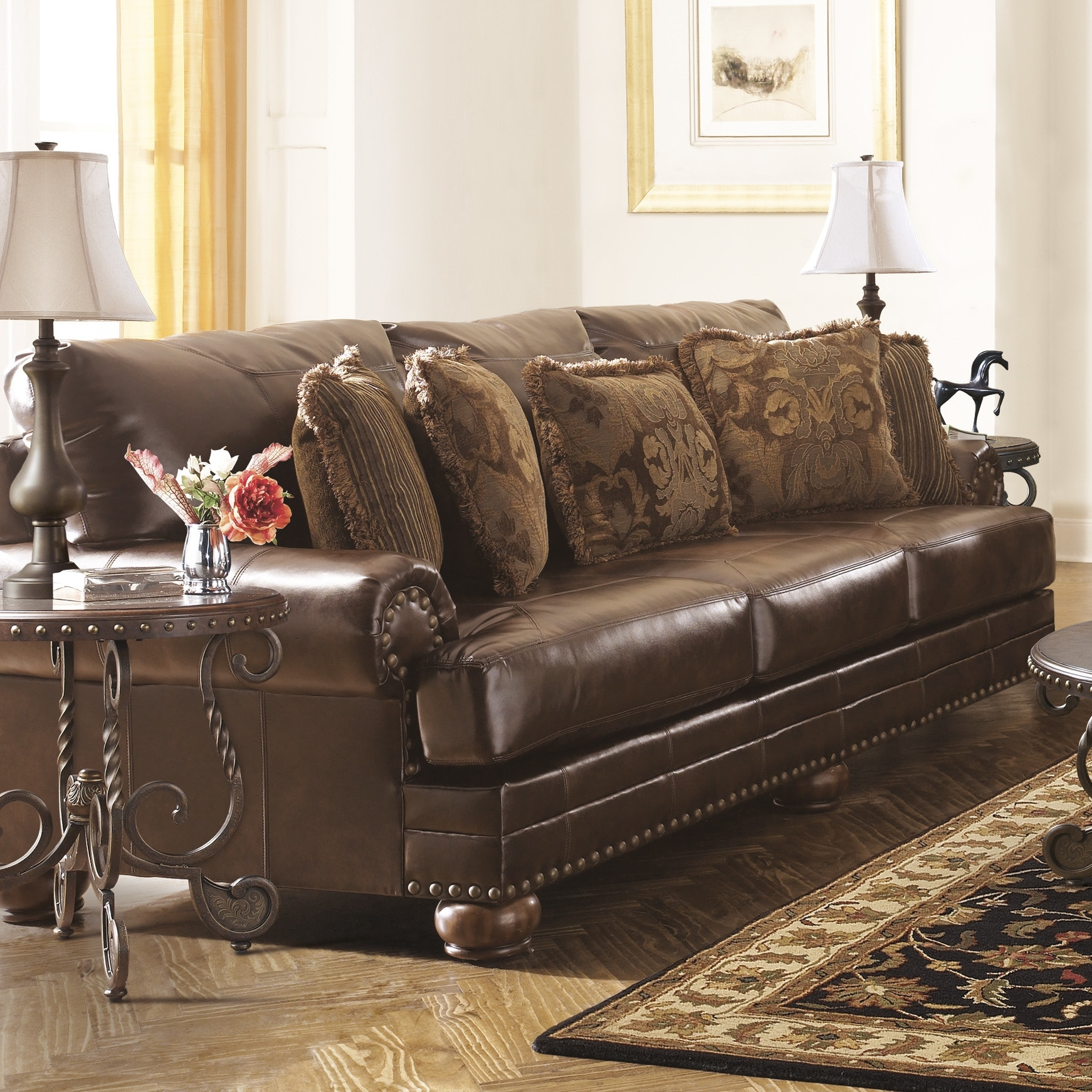 Custom Leather Sofas Dallas Toronto Houston Tx Furniture Canada Sofa In Made In North Carolina Sectional Sofas (Image 2 of 10)