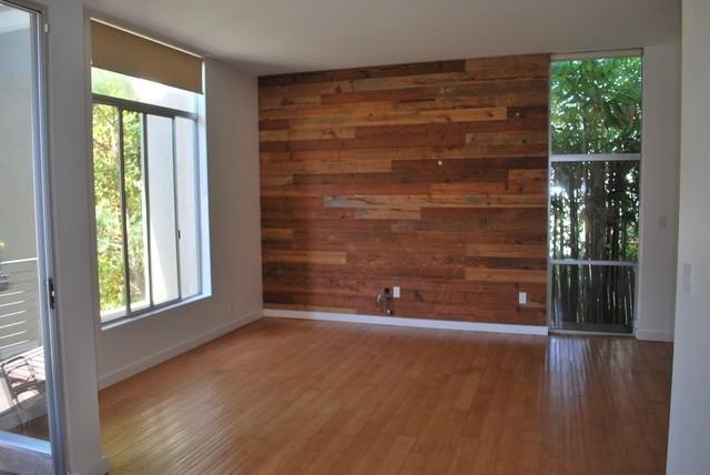 Custom Reclaimed Wood Accent Wall – Rustic – Salt Lake City – With Reclaimed Wood Wall Accents (Image 4 of 15)