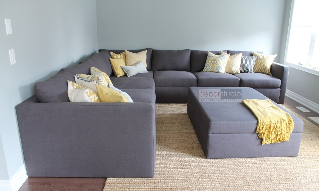 Custom Sectionals – Decor Studio Custom Upholstery For Mississauga Sectional Sofas (Image 1 of 10)