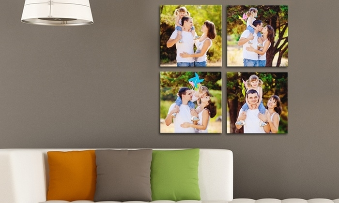 Custom Square Canvas Prints – Picture It On Canvas | Groupon Pertaining To Groupon Canvas Wall Art (Image 7 of 15)