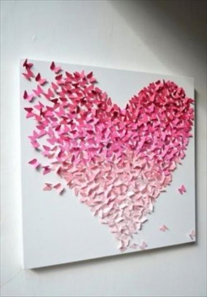 Cute Wall Decor Ideas Cute Wall Decor Ideas Best Of Amazing Diy Intended For Wall Accents For Bathrooms (View 8 of 15)