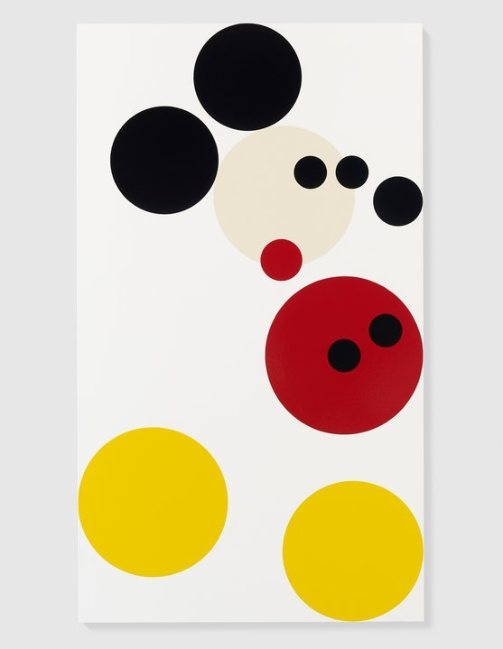 Damien Hirst Makes A Spot Mickey Mouse | Art | Agenda | Phaidon Inside Mickey Mouse Canvas Wall Art (View 8 of 15)