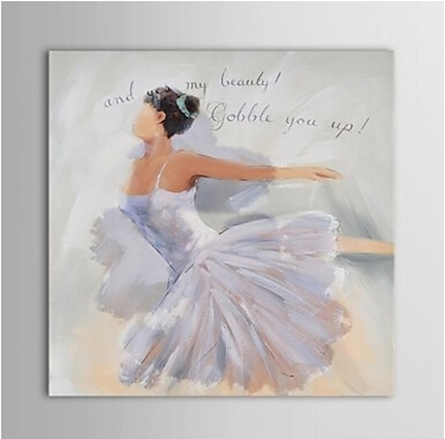 Dance Paintings : Cheap Oil Paintings|Paintings For Sale|Wall Art With Regard To Dance Canvas Wall Art (Image 7 of 15)