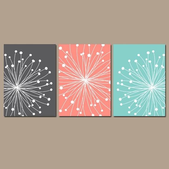 Dandelion Wall Art Dandelion Bedroom Pictures Canvas Or In Dandelion Canvas Wall Art (Image 7 of 15)
