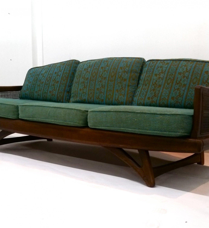 Danish Modern Loveseat | Cheap Retro Sofas | Mid Century Sofas In Retro Sofas (Image 5 of 10)